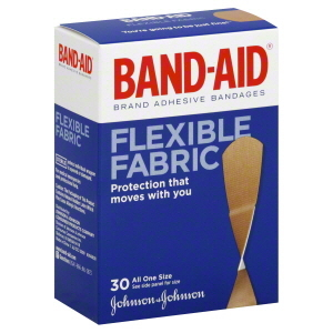 Band-Aid Flexible Fabric Adhesive Bandages (All Sizes)