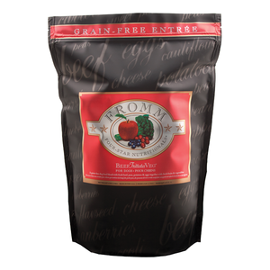 Fromm Four-Star Grain-Free Beef Frittata Veg Dry Dog Food