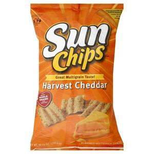 Sun Chips Harvest Cheddar Flavor Multigrain Snacks