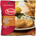Tyson Country Fried Steak