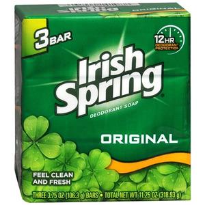 Irish Spring Deodorant Soap - Original