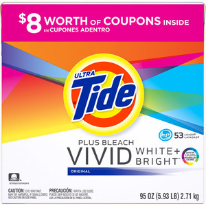 Tide HE Vivid White & Bright Powder Laundry Detergent