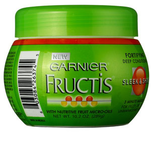 Garnier Fructis Sleek & Shine Fortifying Deep Conditioner 3 Minute Masque