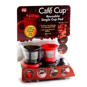 Cafe Cup Reusable Single Cup Pod