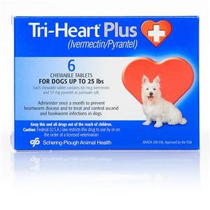 Tri-Heart Plus Heartworm Medicine