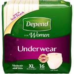 Depend for Women Underwear