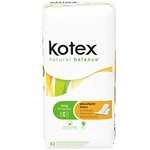 Kotex Natural Balance Absorbant Liners