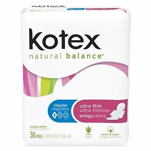 Kotex Natural Balance Ultra Thin Pads