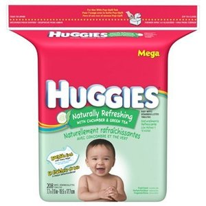 Huggies Naturally Refreshing Cucumber and Green Tea Baby Wipes