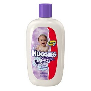 Huggies Hair and Body Baby Wash