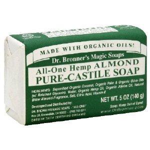 Dr. Bronner's Organic Bar Soap - Almond