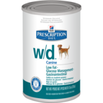 Hill's Prescription Diet w/d Canine Low Fat-Glucose Management-Gastrointestinal Canned Dog Food