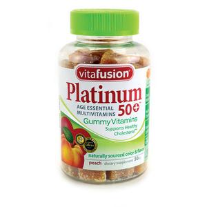 Vitafusion Platinum 50+ Gummy Multivitamins