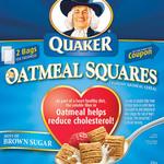 Quaker Oatmeal Squares, Brown Sugar