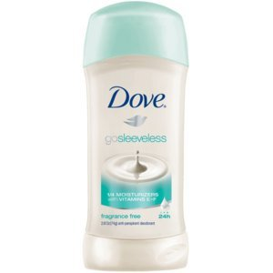Dove Go Sleeveless Fragrance Free Deodorant