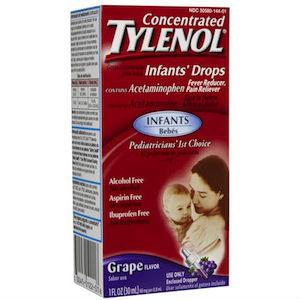 Tylenol Infants' Oral Suspension Liquid