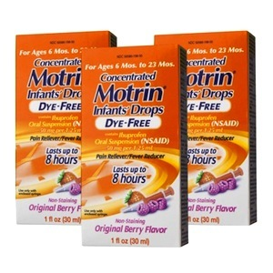 Motrin Infants' Concentrated Drops