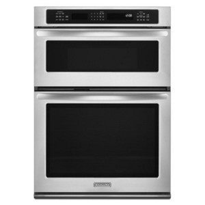 KitchenAid 27 in. Convection Combination Microwave Wall Oven KEMS379BSS