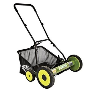 Sun Joe Mow Joe 20-Inch Manual Reel Mower with Catcher