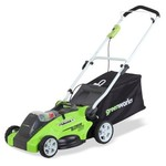 GreenWorks G-MAX 16-Inch Electric Lawn Mower