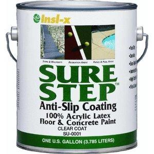 Sure Step Clear Acrylic Anti-Slip Concrete Paint