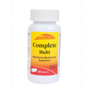 Nature's Measure Complete Multivitamin Tablets