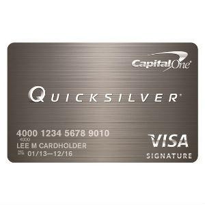 Capital One - Quicksilver Cash Rewards