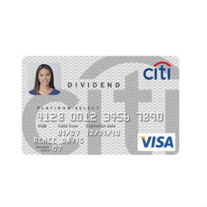 Citi - Dividend Platinum Select MasterCard