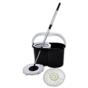 Magic Spin Mop Deluxe Cleaning System