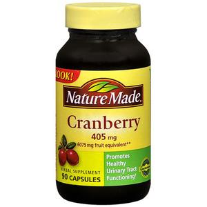 Nature Made Cranberry Supplement