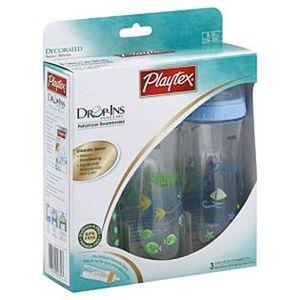Playtex Drop-Ins System 8 oz. Nurser Baby Bottle