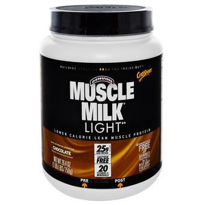 Cytosport Muscle Milk Light Chocolate Protein Supplement