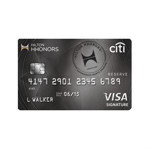 Citi - Hilton HHonors Reserve Card