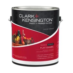 Clark + Kensington Paint and Primer Flat Enamel Interior Paint