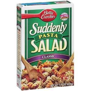 Betty Crocker Suddenly Pasta Salad, Classic
