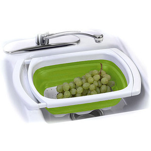 Food Network 6-qt. Collapsible Over-the-Sink Colander