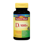 Nature Made Vitamin D 1000 I.U. Tablets Dietary Supplement