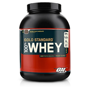 Optimum Nutrition Gold Standard 100% Whey - Double Rich Chocolate