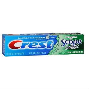 Crest Extra White Plus Scope Outlast Toothpaste
