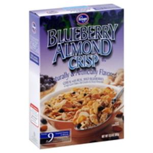 Kroger Blueberry Almond Crisp Cereal