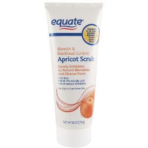 Equate Medicated Apricot Scrub