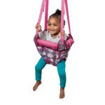 Evenflo ExerSaucer Pink Bumbly Door Jumper