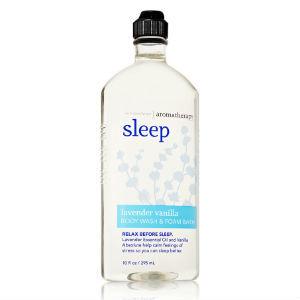Bath & Body Works Aromatherapy SLEEP Body Wash & Foam Bath Lavender Vanilla