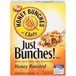 Post Honey Roasted Just Bunches Cereal