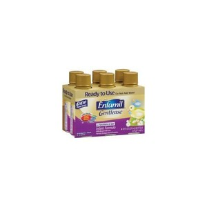 Enfamil Gentlease Ready to Use 8 oz Bottles, 6 ea