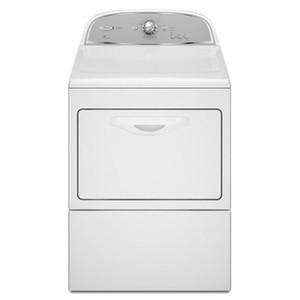 Whirlpool Cabrio 7.4 Cu. Ft. White Gas Front Load Dryer