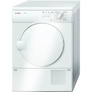 Bosch Axxis 3.9 Cu. Ft. White Stackable Electric Front Load Dryer