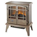 Comfort Glow Keystone Electric Stove with Thermostat, Bronze Finish