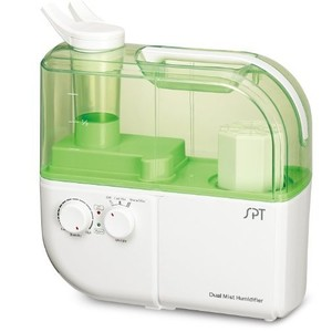 SPT Dual Mist Humidifier with ION Exchange Filter