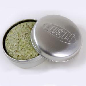 LUSH Squeaky Green Solid Shampoo Bar